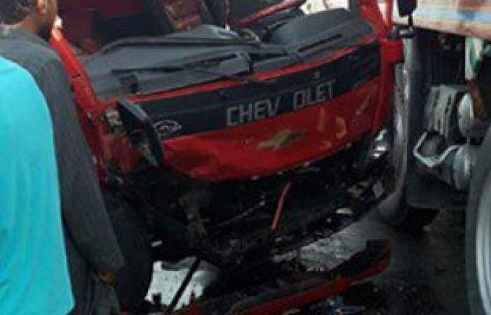 إصابة 3 أشخاص فى حادث سير بوسط سيناء