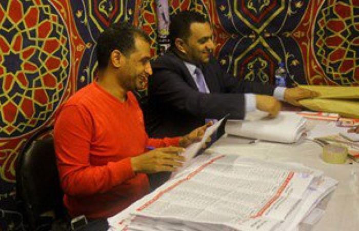 """النتائج الأولية بلجان """"الشيخ زويد"""" تشير لتقدم المرشح إبراهيم أبو شعيرة"""