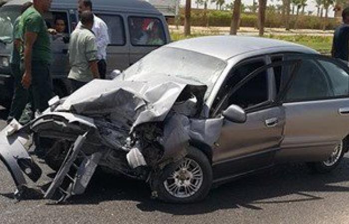 مصرع سيدة صدمتها سيارة مسرعة بطريق القاهرة - أسيوط الغربى وفرت هاربة