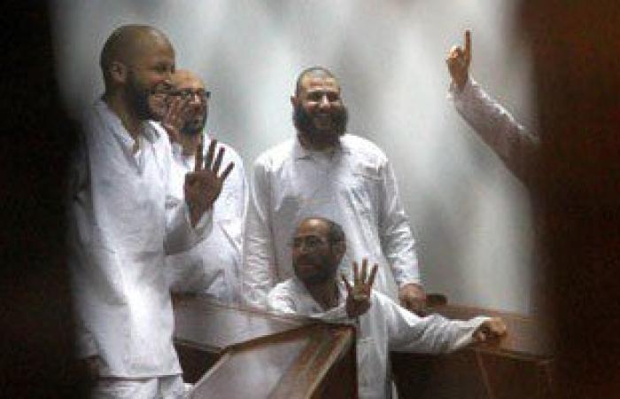 إعادة محاكمة 132 متهم فى أعمال عنف بكفر الشيخ عقب فض رابعة