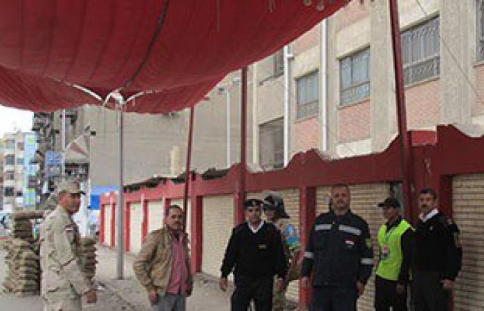 وصول القضاة بدائرة الرمل بالإسكندرية استعداد لفتح اللجان أمام الناخبين