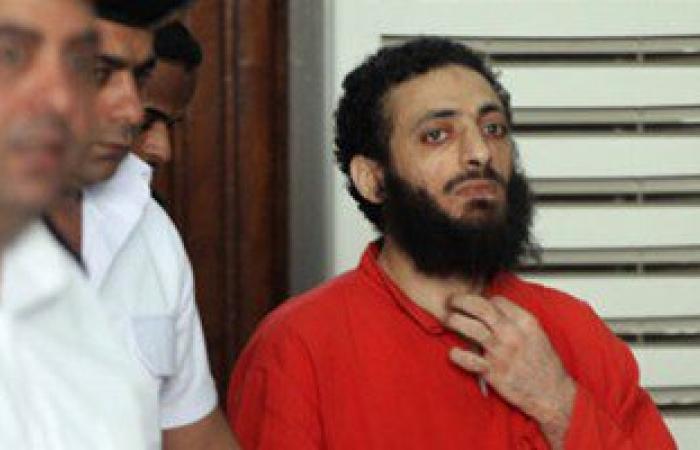 وصول عادل حبارة معهد الأمناء لحضور جلسة الحكم عليه بتهمة قتل مخبر شرطة