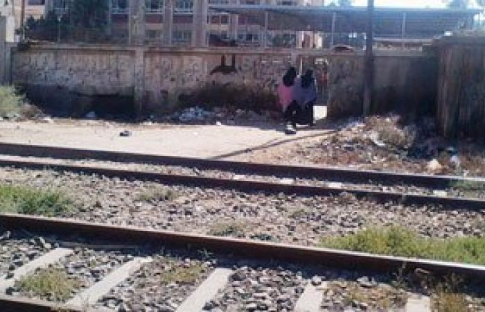 انفجار يتسبب فى انفصال جزء من قضبان السكة الحديد أمام إنشاص الرمل ببلبيس