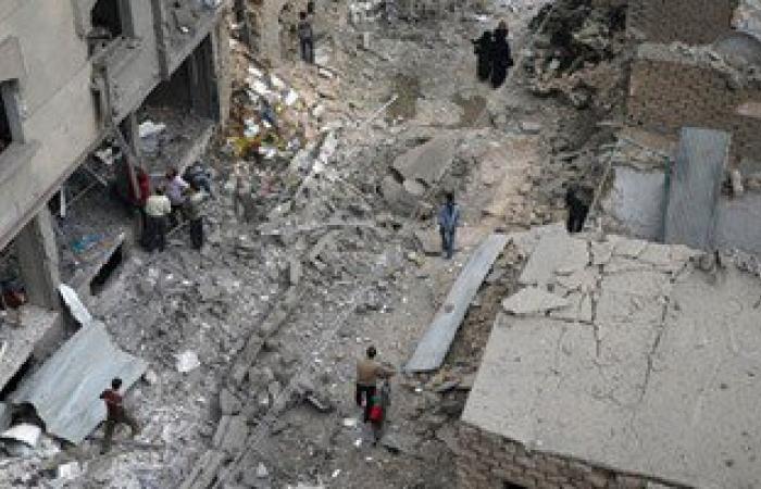 مصرع 5 أشخاص بقذائف صاروخية أطلقها مسلحون على الأحياء السكنية بريف حلب