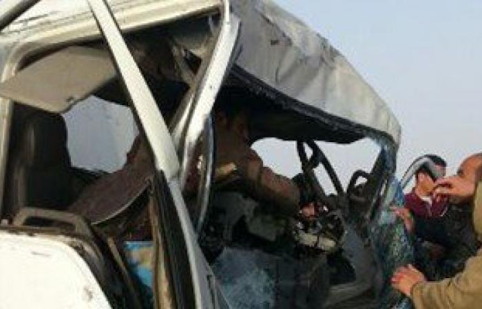 إصابة عدد من المواطنين فى اصطدام سيارة نقل ثقيل بـ 11 ملاكى بنفق السلام