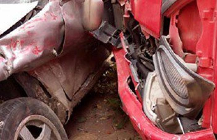 إصابة 5 أشخاص فى حادث تصادم على طريق المنصورة - جمصة