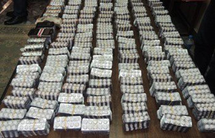 ضبط 3000 قرص مخدر محظور تداولها داخل صيدلية بالبحيرة