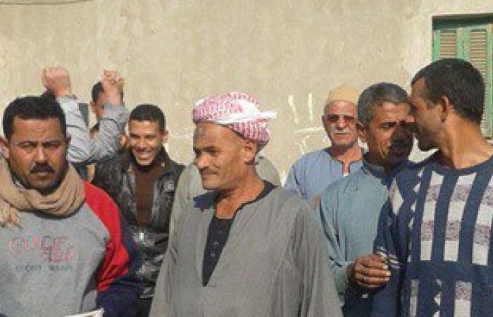 تظاهر مزارعى قرية تانيس بالشرقية للمطالبة بثمن محصول القطن