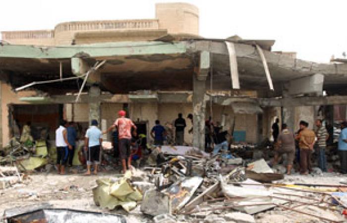 مقتل 4 عراقيين وإصابة 19 آخرين فى انفجار 3 عبوات ناسفة ببغداد