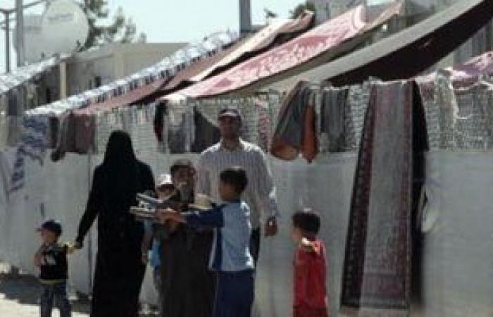 """مساعدات تركية للنازحين فى """"جبل التركمان """" بسوريا"""