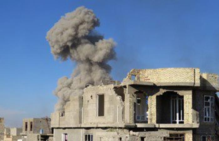 """بالصور.. القوات العراقية تحاصر مسلحى داعش فى """"المجمع الحكومى"""" وسط الرمادي"""