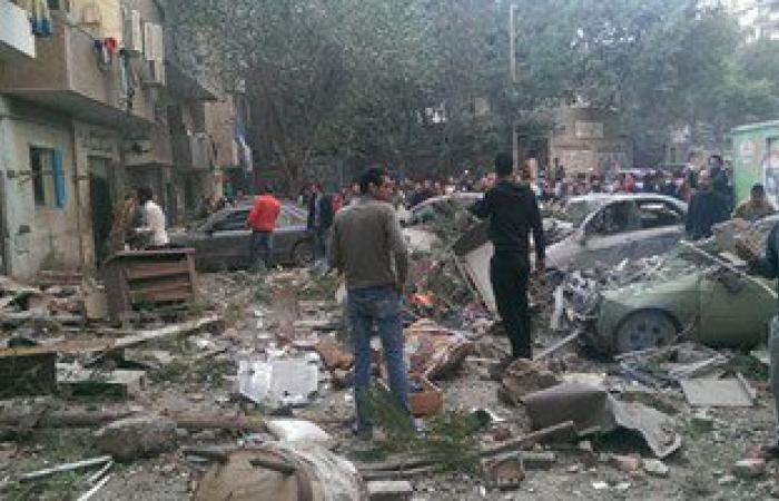 """بيان """"الداخلية"""": تسرب غاز وراء انفجار فيصل ومصرع سيدة وإصابة آخرين"""