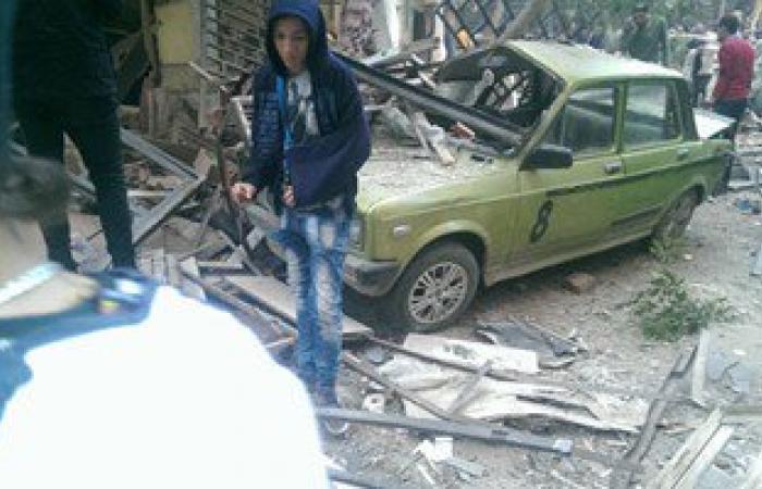 """""""الصحة"""": حالة وفاة و14 مصابا فى انفجار سهل حمزة بفيصل"""