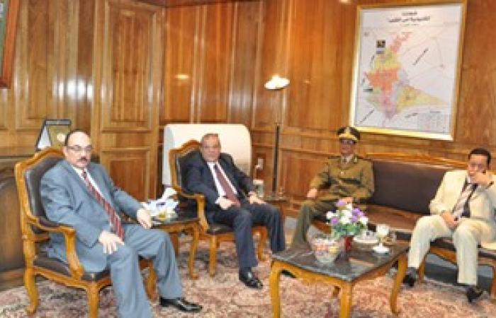 محافظ القليوبية الجديد يستقبل مدير الأمن لمناقشة الخطط الأمنية بالمحافظة