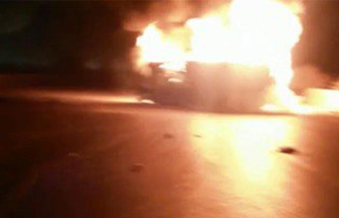 اتساع نطاق حريق فى صهاريج نفط بمرفأين فى ليبيا ليشمل 7 صهاريج