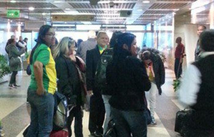 فوج سياحى برازيلى يصل القاهرة لزيارة المعالم الأثرية