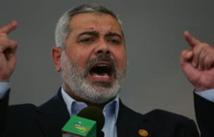 """اسماعيل هنية يؤكد مواصلة """"الانتفاضة"""" ضد اسرائيل"""