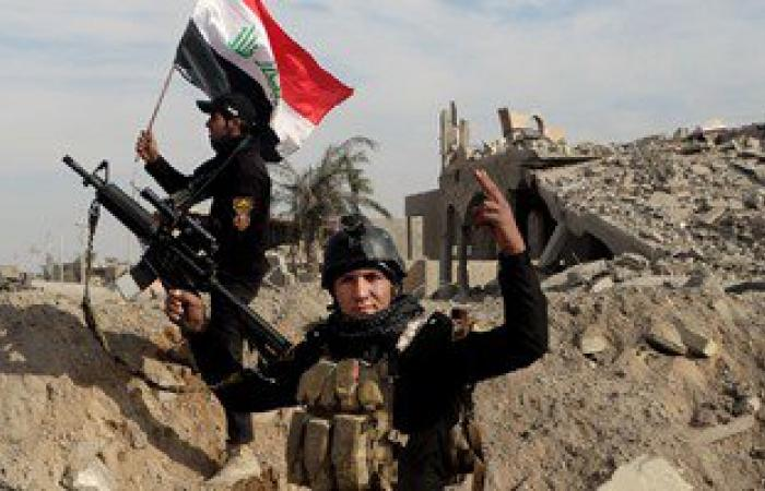 """بالصور.. الجيش العراقى يمشط """" الرمادي """" بعد استعادة السيطرة عليها من داعش"""