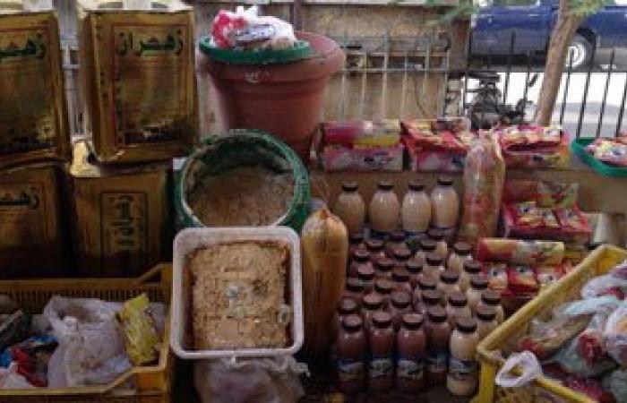 """""""تموين الإسكندرية"""" تضبط كمية من السلع الغذائية غير الصالحة للاستهلاك الآدمى"""