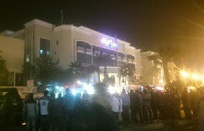 هجوم 3 مجهولين على فندق سياحى بالغردقة وأنباء عن إصابات