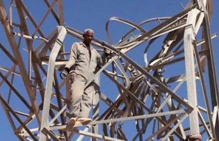 سقوط عدد من أبراج الضغط العالى بالعراق بسبب سوء الأحوال الجوية
