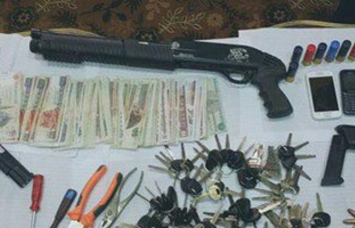 القبض على أخطر تشكيل عصابى لسرقة السيارات تحت تهديد السلاح