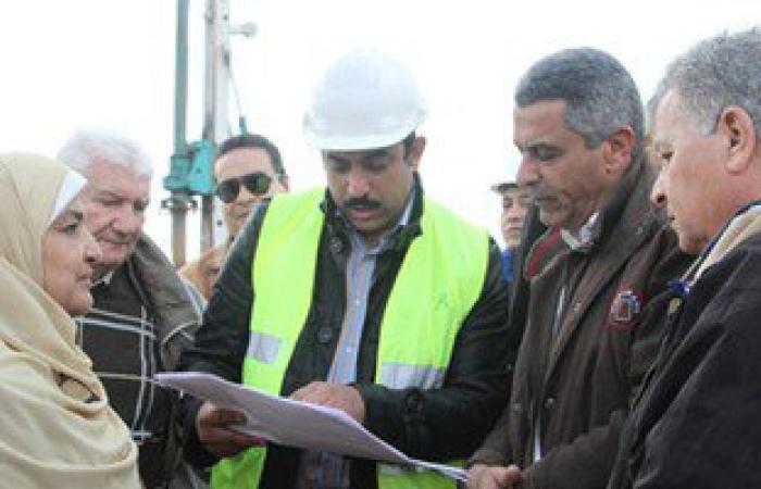 بالصور.. وزير النقل يتفقد طريق شبرا بنها ويشدد على تكثيف العمل لسرعة الانتهاء