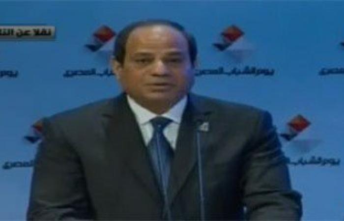 الرئيس السيسى: أبطال الجيش والشرطة ضحوا بأرواحهم ضد أهل الشر
