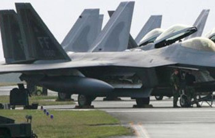 طائرات التحالف العربى تقصف إدارة أمن العاصمة اليمنية ومعسكر الشرطة الراجلة