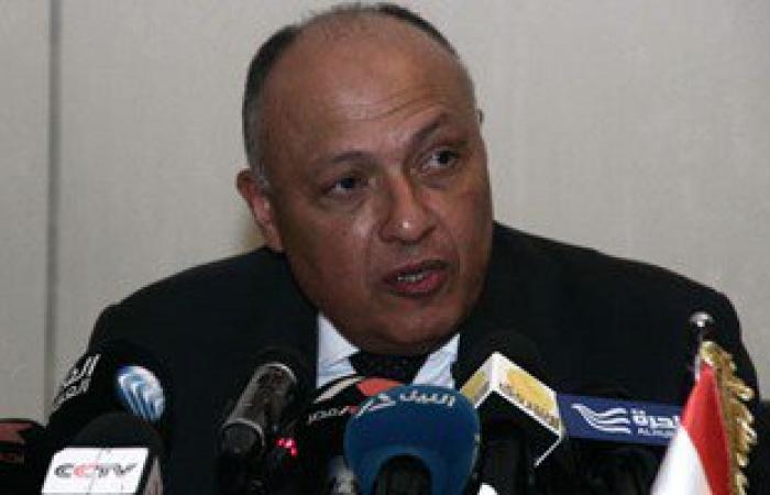 وزير الخارجية يبحث اليوم مع نظيره الليبى التطورات الجارية فى ليبيا