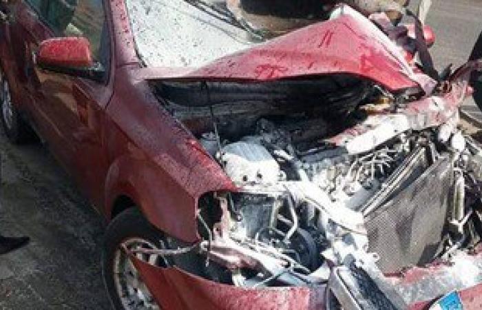 مصرع 4 أشخاص وإصابة 26 فى حادث تصادم على طريق الإسكندرية الصحراوى