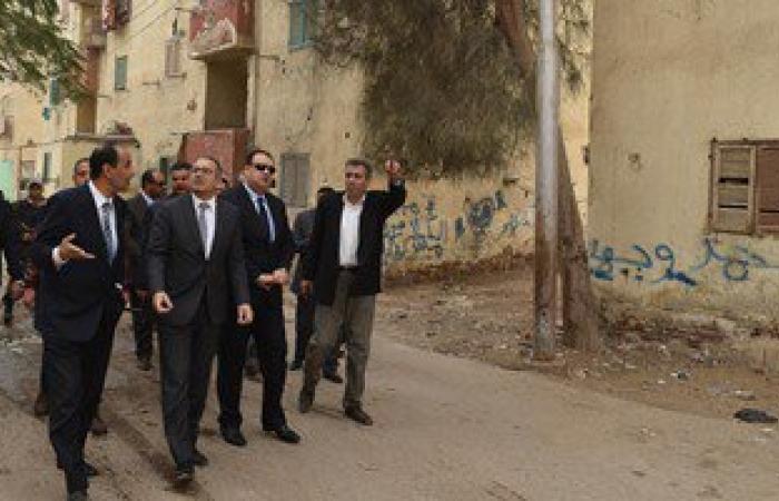 محافظ الفيوم ونائب وزير الإسكان يتفقدان عدداً من مساكن العشوائيات