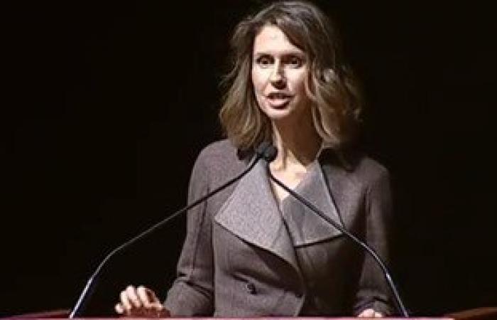زوجة بشار الأسد: الحضارة السورية عمرها 7 آلاف سنة.. وداعش هم وحوش الأرض