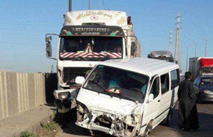 """حبس سائق """"المقطورة"""" المتسبب فى حادث تصادم """"كوبرى قها"""" بالقليوبية"""