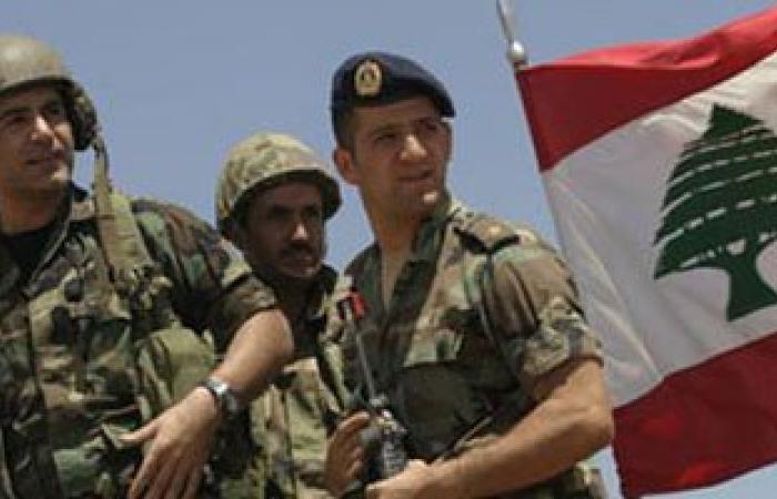 الجيش اللبنانى يضبط أسلحة ومعدات لتصنيع المخدرات شرق البلاد