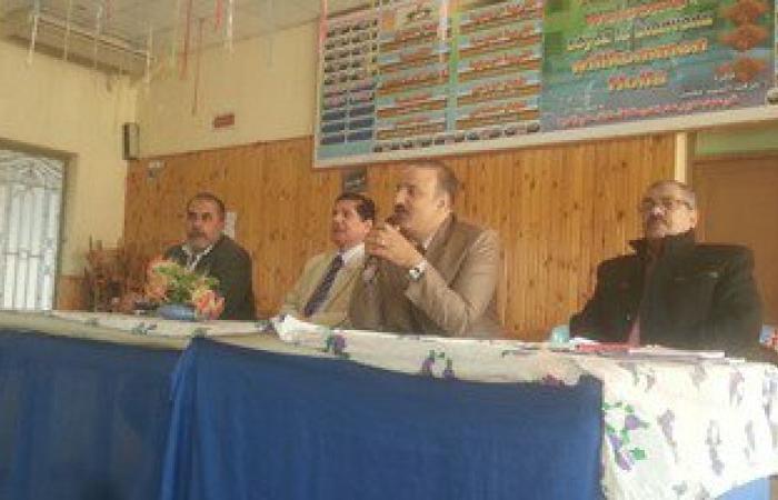 وكيل وزارة التربية والتعليم بالشرقية يجتمع بروساء لجان امتحانات الإعدادية