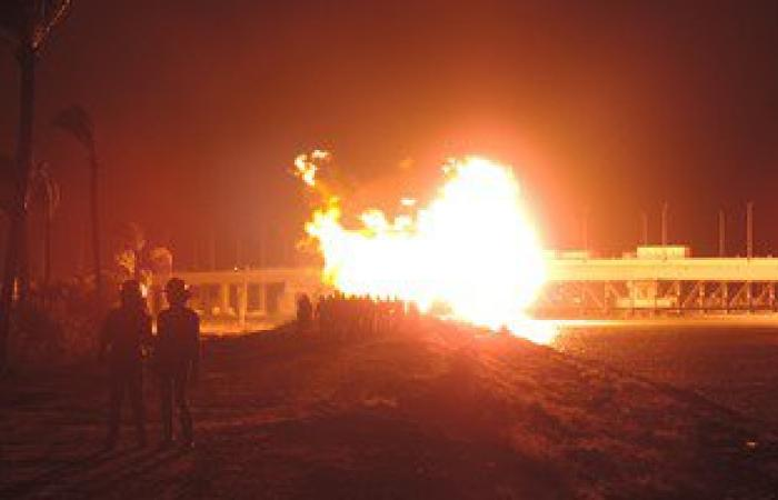 شركة جاسكو للغازات: 5 ملايين جنيه تكاليف إصلاح خط الغاز المنفجر بدمياط