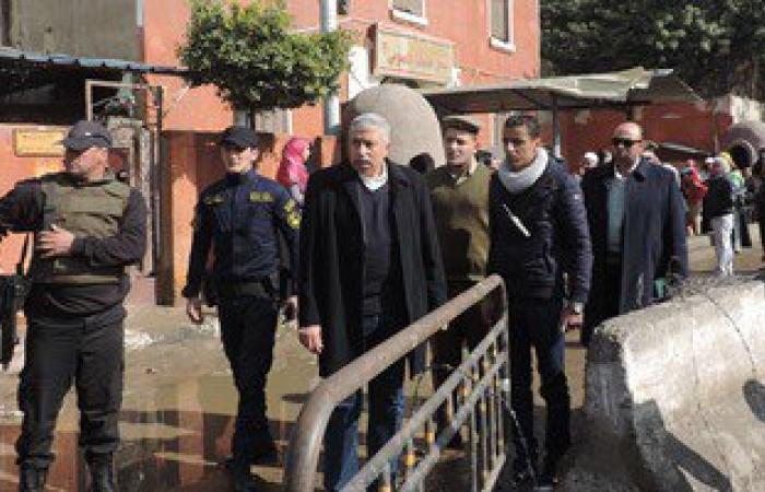 مدير أمن الغربية يتفقد خدمات تأمين سجن طنطا العمومى ويشرف على حملة مرورية