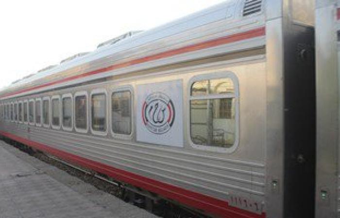 ناظر محطة يكتشف غياب سائق قطار المنيا - سوهاج ومساعده يقوده بمفرده