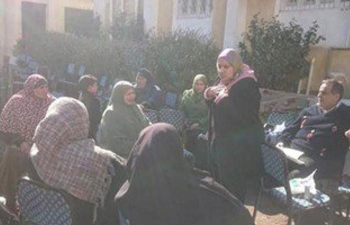 بالصور.. علاج ألف مواطن مجانا بقافلة طبية لجامعة المنصورة بمركز بلقاس