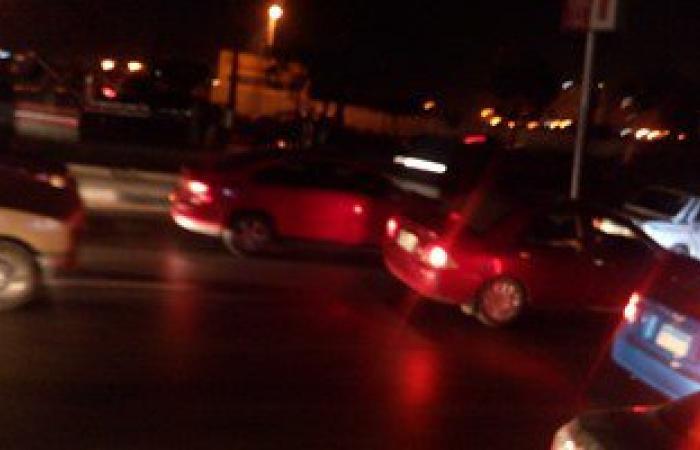 طوارئ فى شارع صلاح سالم بسبب بقعة زيت