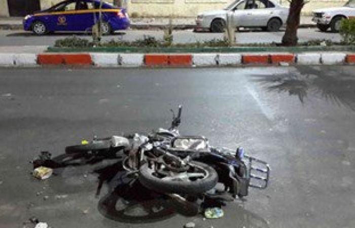 """إصابة 4 أشخاص فى حادث انقلاب دراجتين بـ""""كورنيش أسوان"""""""