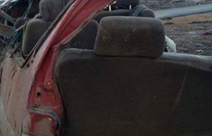 إصابة 8 أشخاص فى حادث تصادم سيارتين بالفيوم