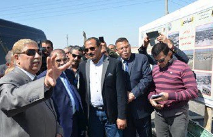 محافظ الإسماعيلية ونواب البرلمان يتفقدون مشروع قرية الأمل شرق قناة السويس