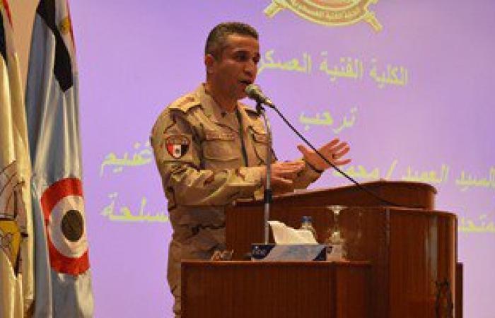 """المتحدث العسكرى يهنىء متابعيه بـ""""فيس بوك"""" بعد وصول صفحته إلى 6 ملايين متابع"""