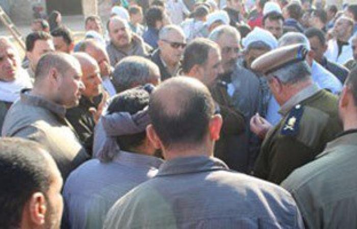 تجار مواشى يعتصمون بسوق كفر البرامون بعد قرار غلقه بالدقهلية