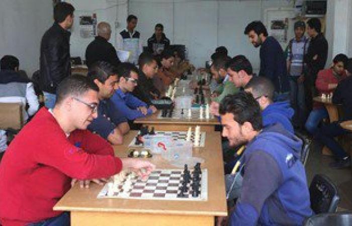 انطلاق بطولة الشطرنج بجامعة طنطا