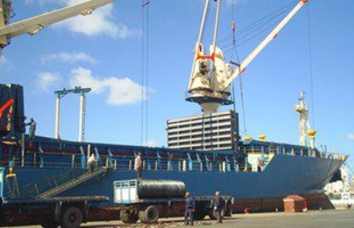وصول 151 ألف طن سولار وقمح وذرة إلى ميناء الإسكندرية