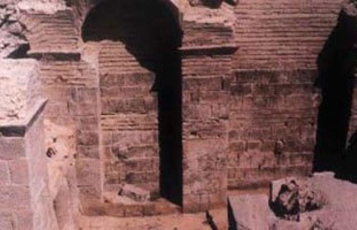 آثار الفيوم تحرر محضرا ضد مجلس مدينة الفيوم بسبب ردم حمام أثرى