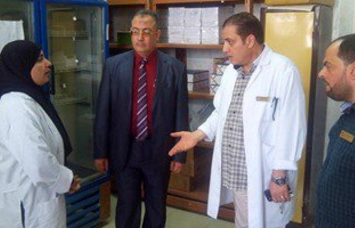 مدير التأمين الصحى بالشرقية يتفقد امتحانات مدرسة التمريض